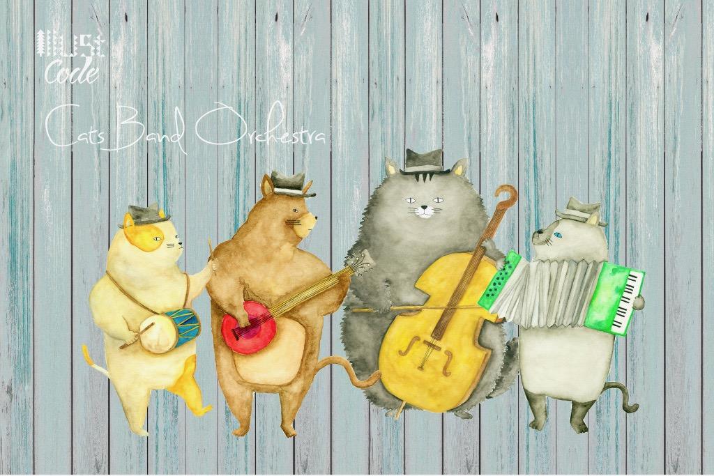 猫の音楽隊