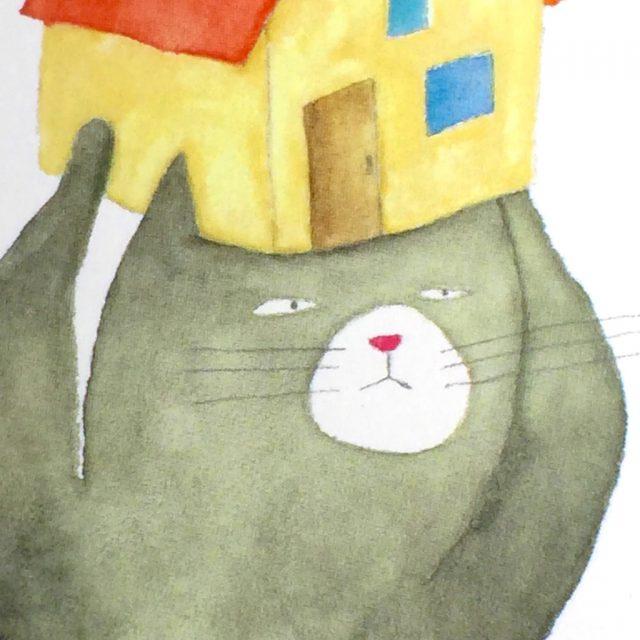 ネコの引っ越しカード-3
