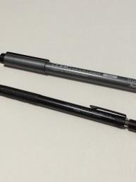 シャープペンシルとボールペン